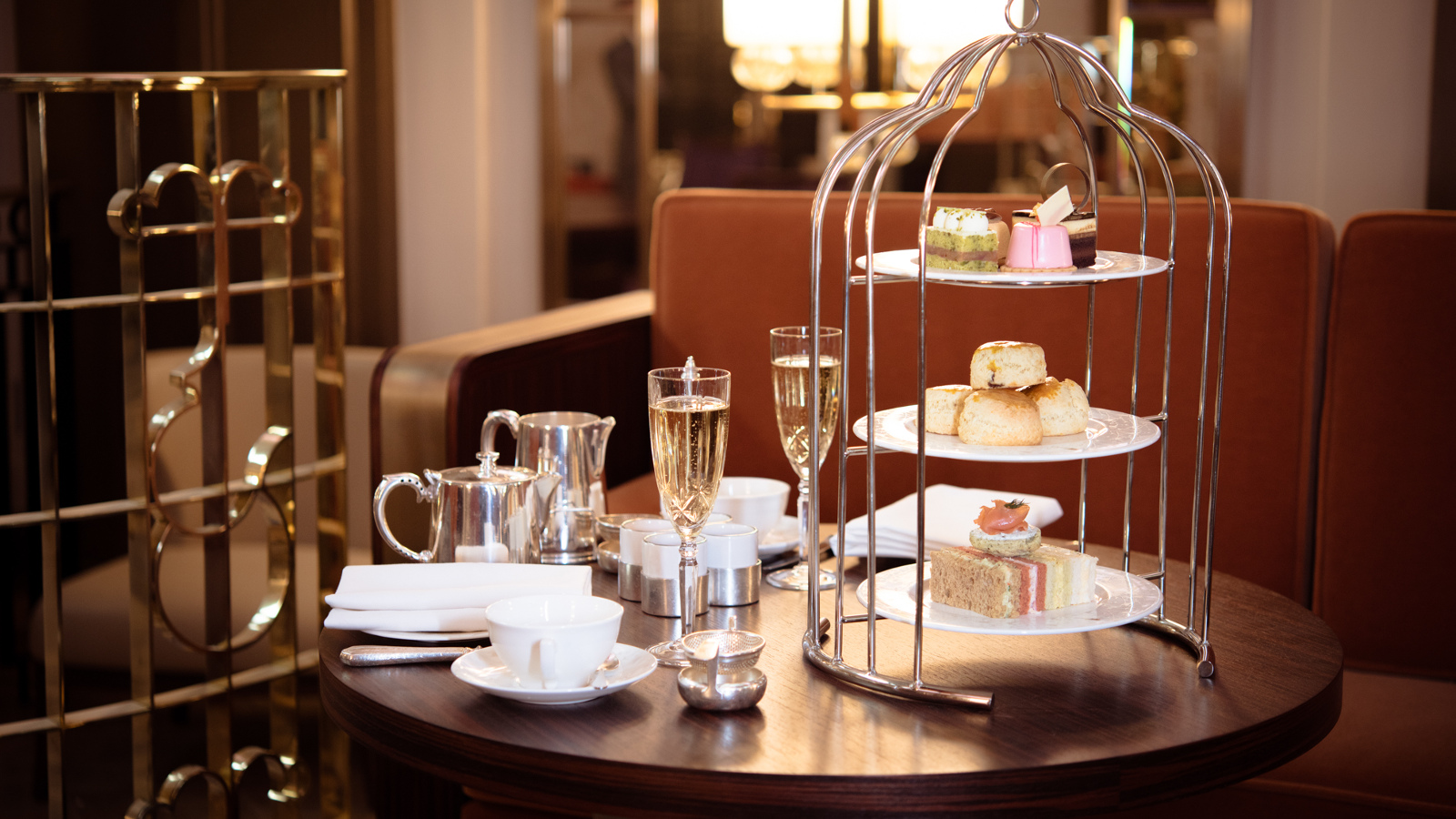 Afternoon Tea in the Palm Court - Sheraton Grand London Park Lane