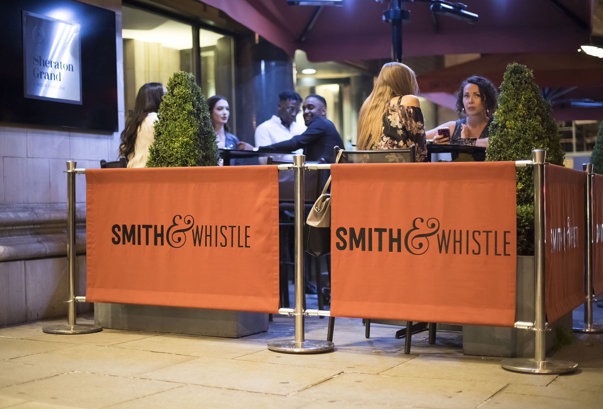 Christmas Work Party in Mayfair | Smith and Whistle