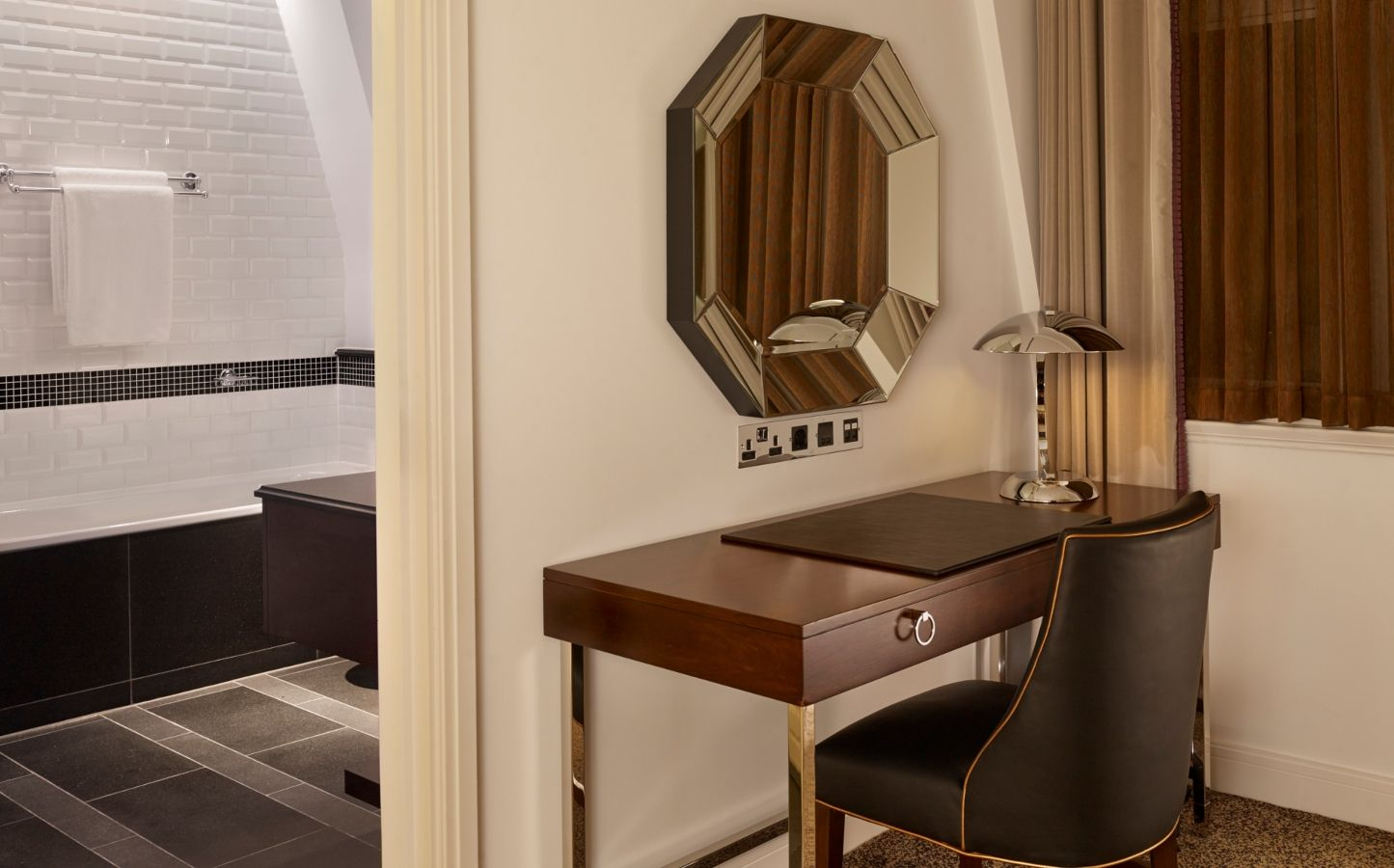 art deco hotel suite in london